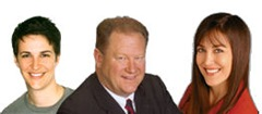 Rachel Maddow, Ed Schultz, and Stephanie Miller